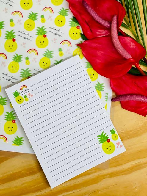 Notepad (50 Sheets): Aloha Vibes Icons