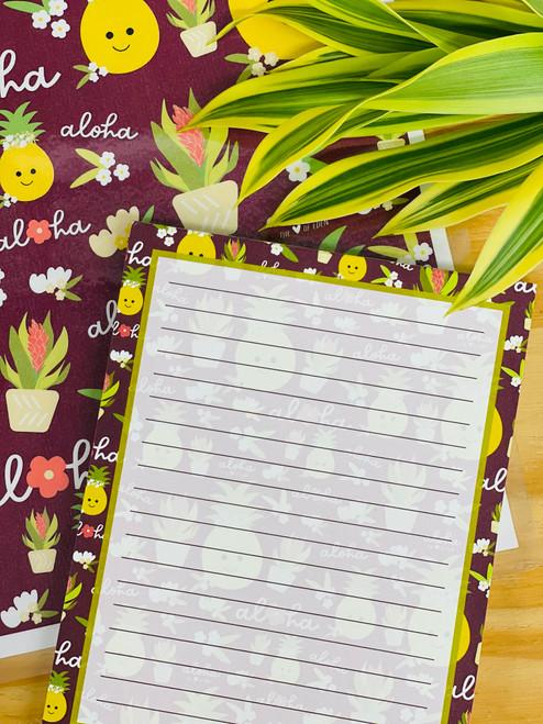 Notepad (50 Sheets): Bloom Queen