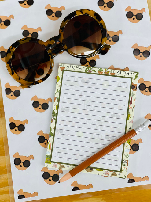 Notepad (50 Sheets): Desert Luxe