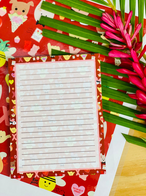 Notepad (50 Sheets): Eden in Love-y Dovey