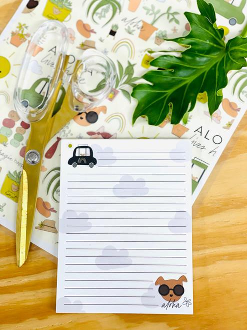 Notepad (50 Sheets): Fancy Fido