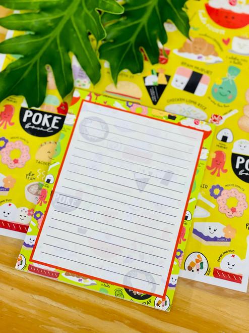 Notepad (50 Sheets): Foodie Foodie