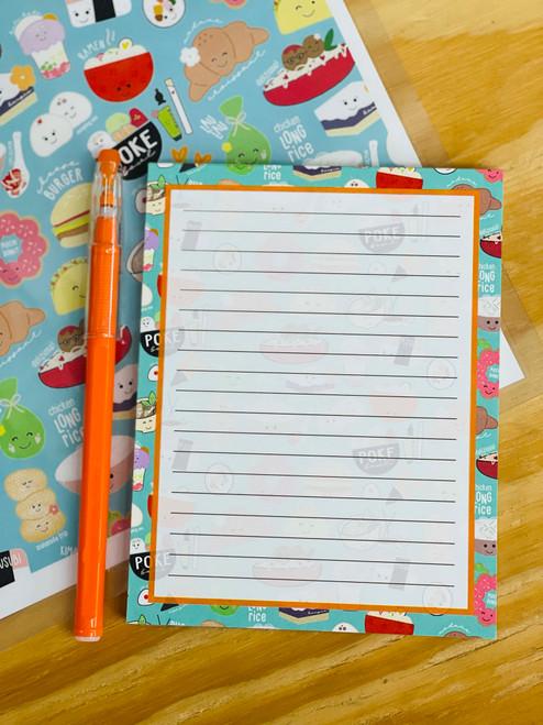 Notepad (50 Sheets): Global Grinds