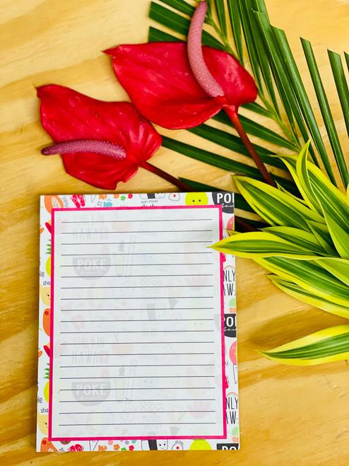 Notepad (50 Sheets): Heart of Eden