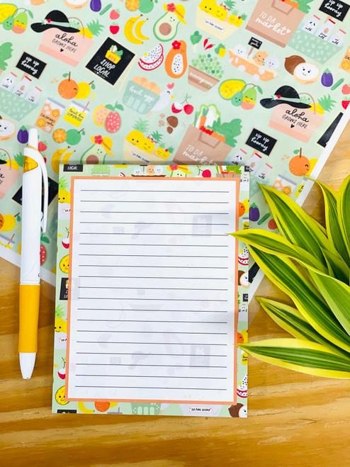 Notepad (50 Sheets): To Da Market