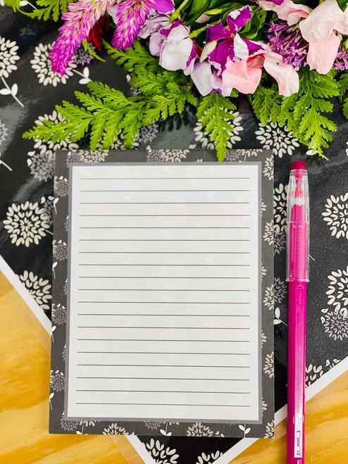 Notepad (50 Sheets): Warehouse Blooms