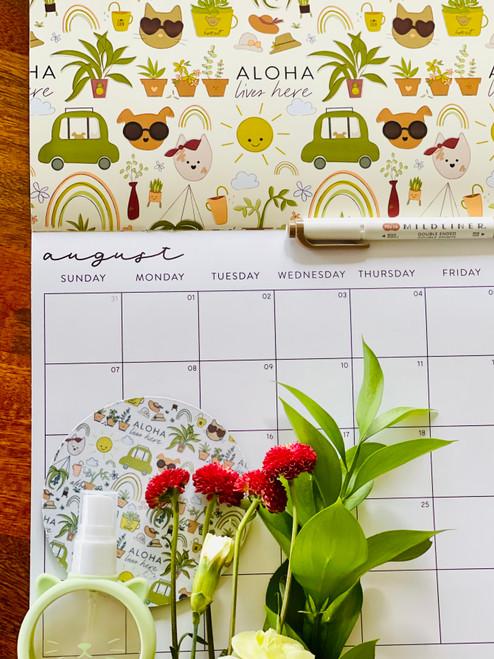 Fabric Coaster: Desert Luxe House