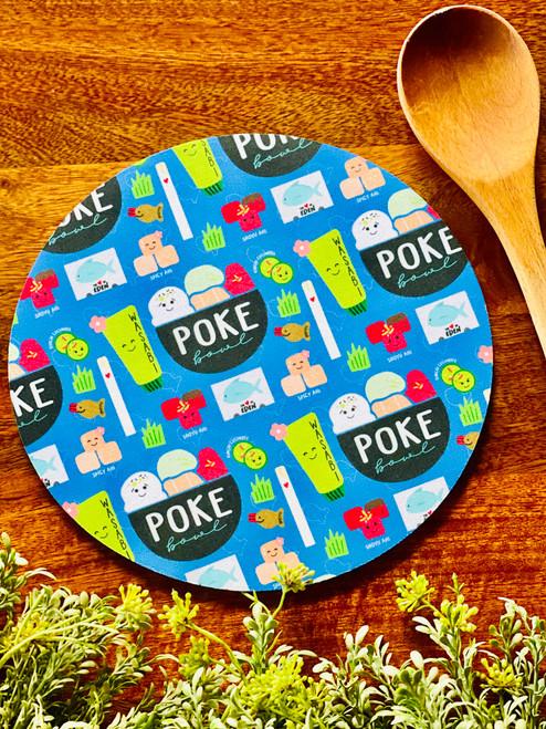 Fabric Trivet: Poke Bowl