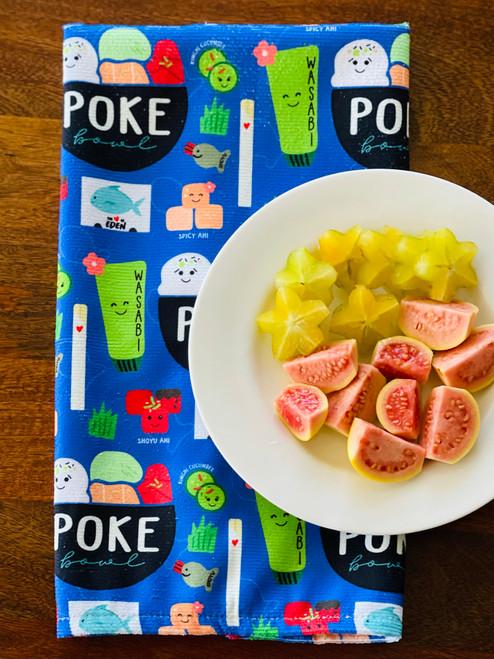 Kitchen Towel: Poke Bowl