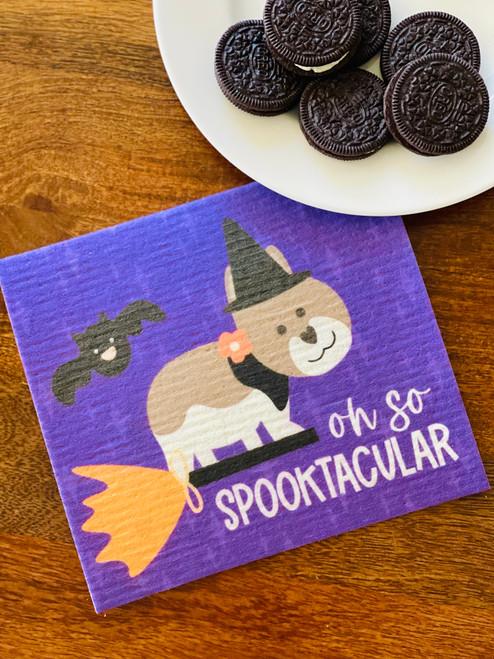 Swedish Dishcloth: Oh So Spooktacular!