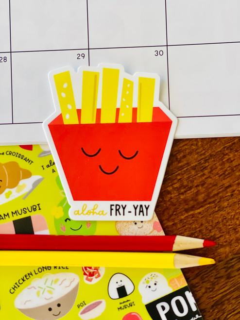 Sticker: Aloha Fry-Yay
