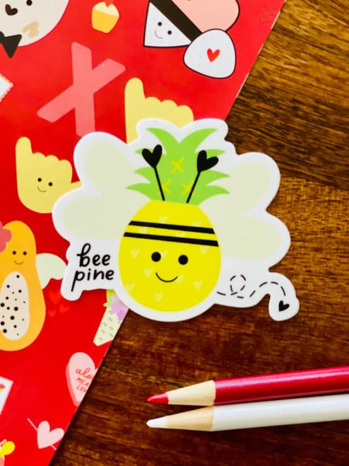 Sticker: Bee Pine