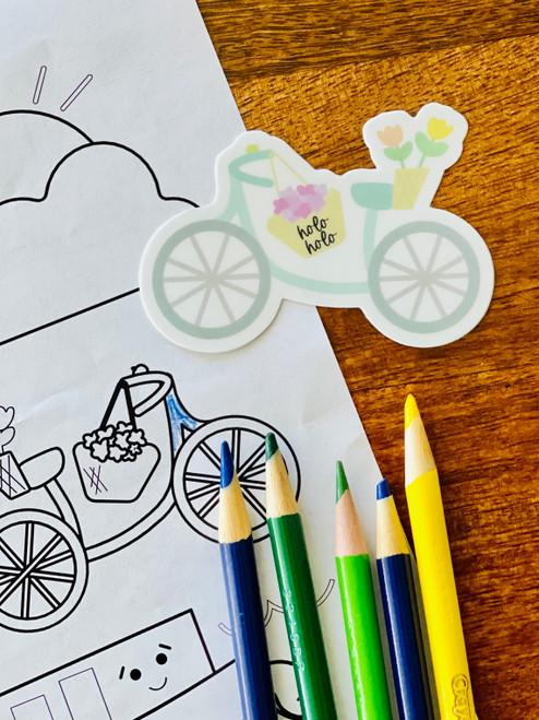 Sticker: Holo Holo Bike