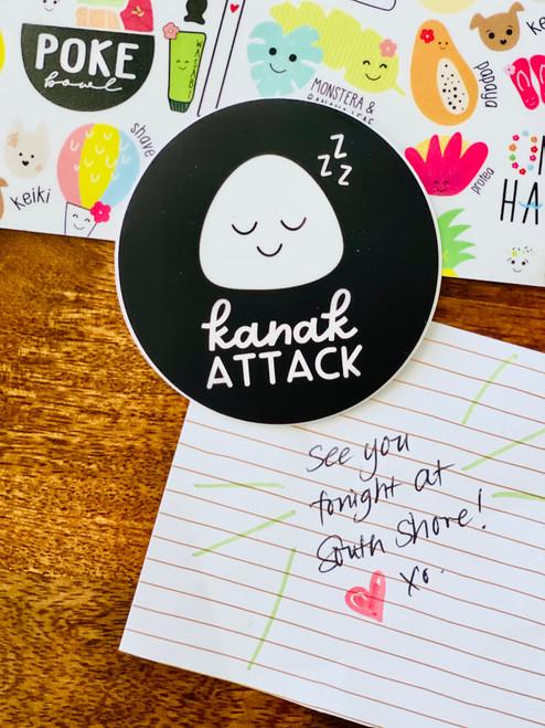 Sticker: Kanak Attack Round