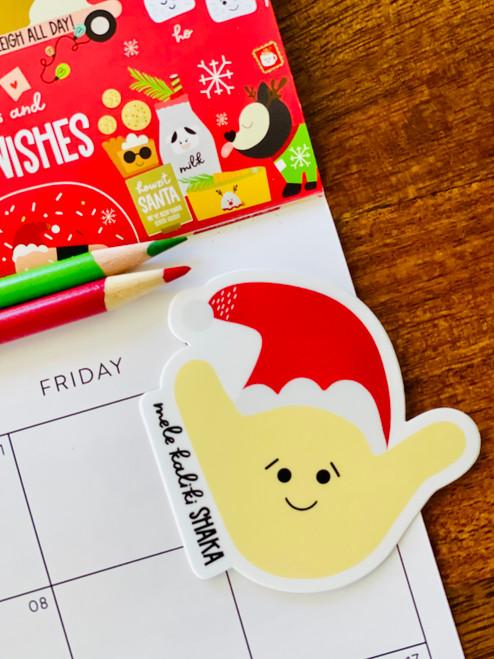 Sticker: Shaka Santa