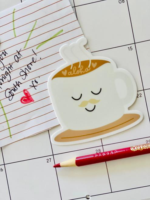 Sticker: Mr. Latte