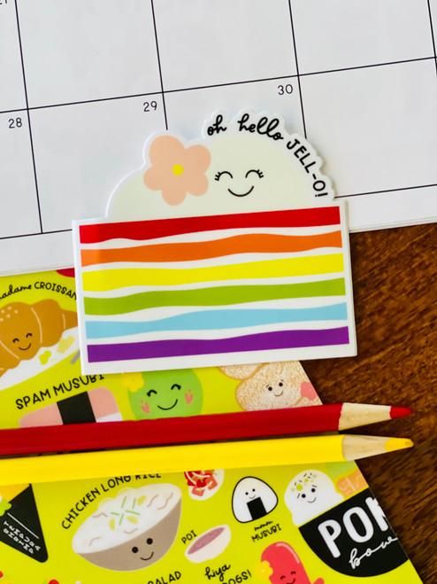 Sticker: Rainbow Jello