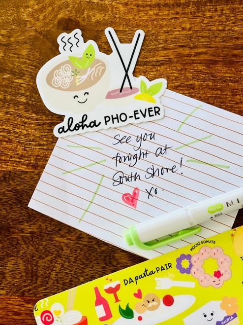 Sticker: Aloha Pho-Ever