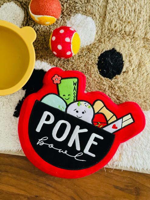 Dog Toy: Poke Bowl