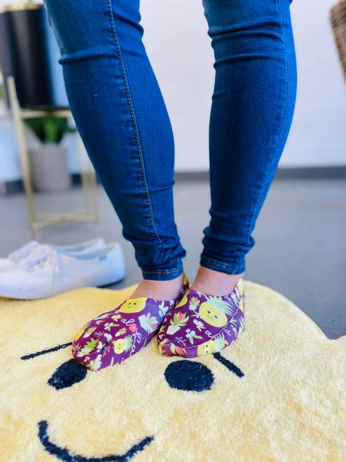 Liner Socks: Bloom Queen
