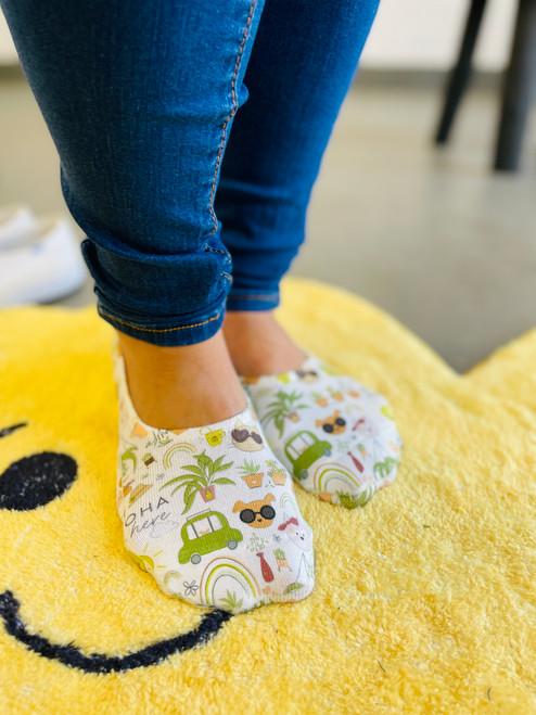 Liner Socks: Desert Luxe