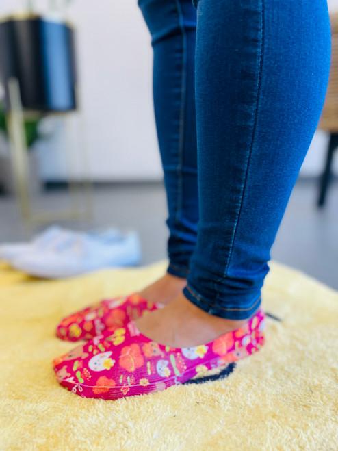 Liner Socks: Hiyabiscus