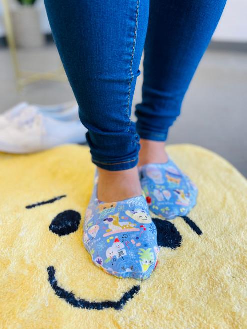 Liner Socks: Snow Queen