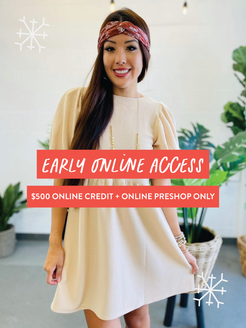 Black Friday Early Online Access