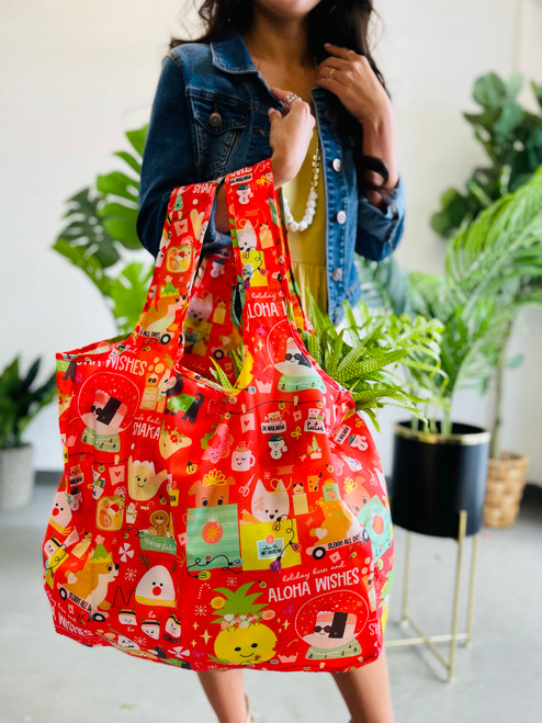 Large Tote: Where The Gift Givers Go