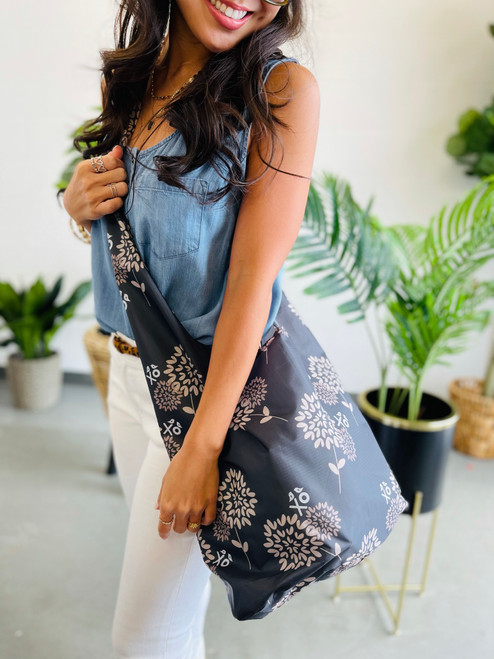 Crossbody Bag: Warehouse Blooms