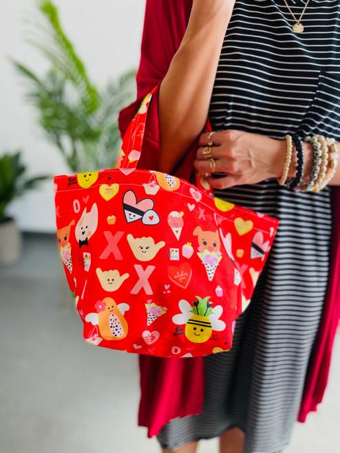 Dumpling Bag: Eden in Love-y Dovey