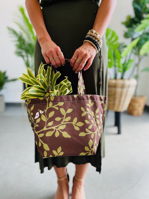Dumpling Bag: Leaves in Bloom