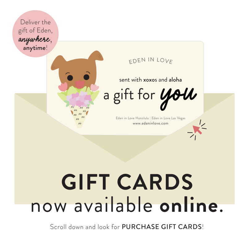 Purchase Eden in Love Gift Cards