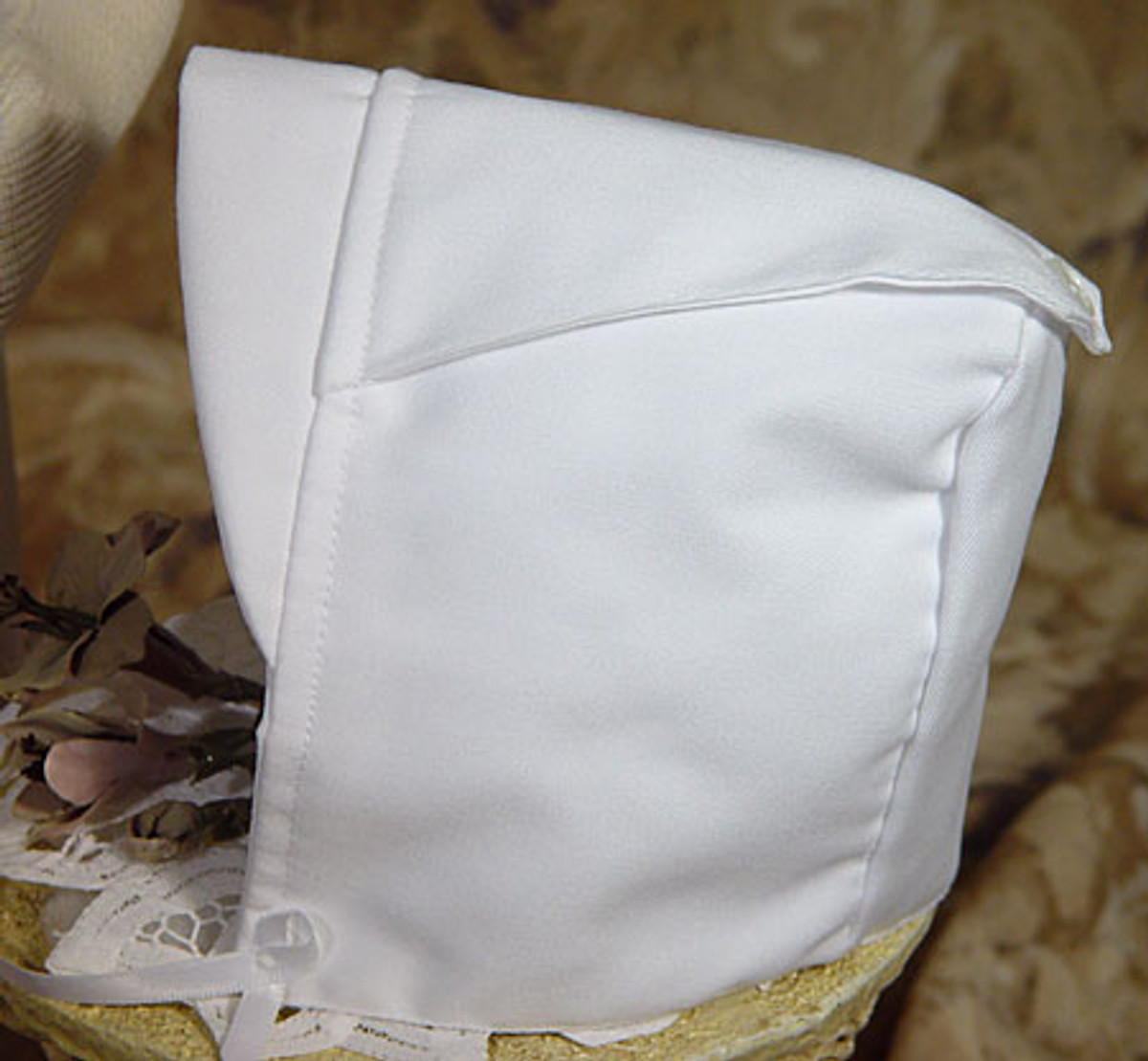 Boys Christening Knicker Set with Hat