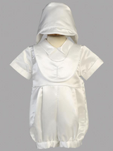 Boys Christening Embroidered Cross Outfit