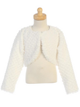 Faux-Fur-Bolero-(1109)-White