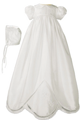 Silk Christening Gowns