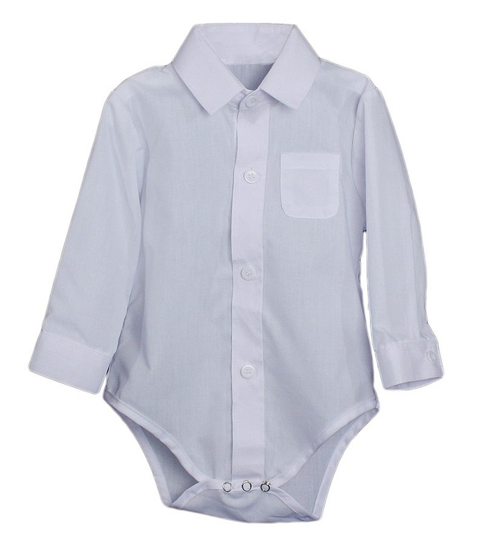 100% Cotton knit one piece bodysuit or onesie with embroidered cost. Available with an embroidered cross or with no cross. May be used as a Christening garment or undergarment, the perfect addition to any Christening outfit or gown. Machine washable, ships in a clear vinyl gift pouch.