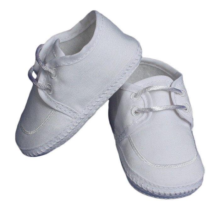 Boy's Gabardine Lace-up Shoe