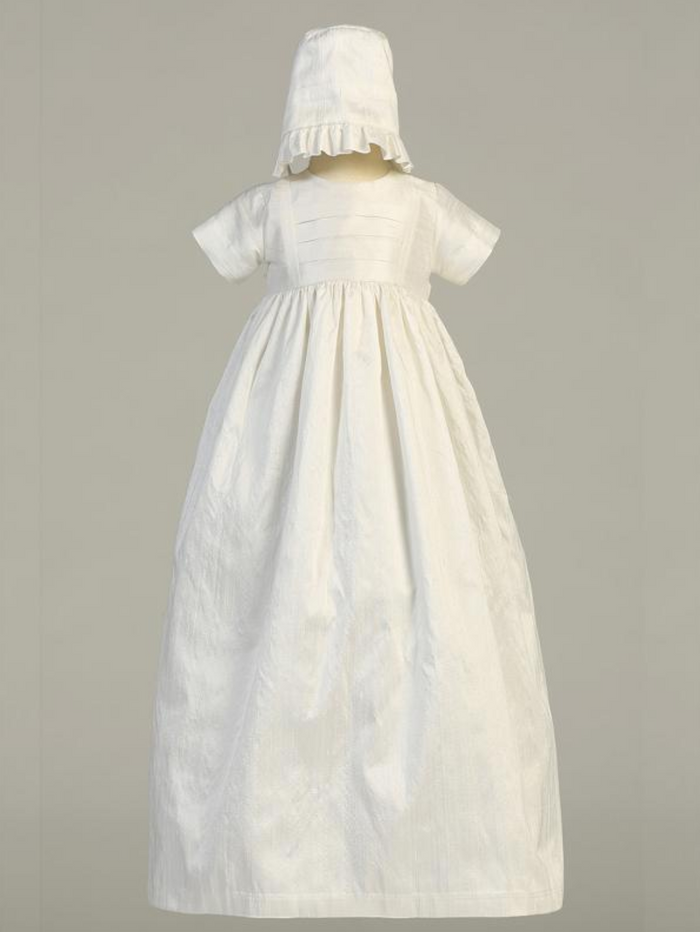 Girls-White-Silk-Christening-Gown-Unisex-boys-hat