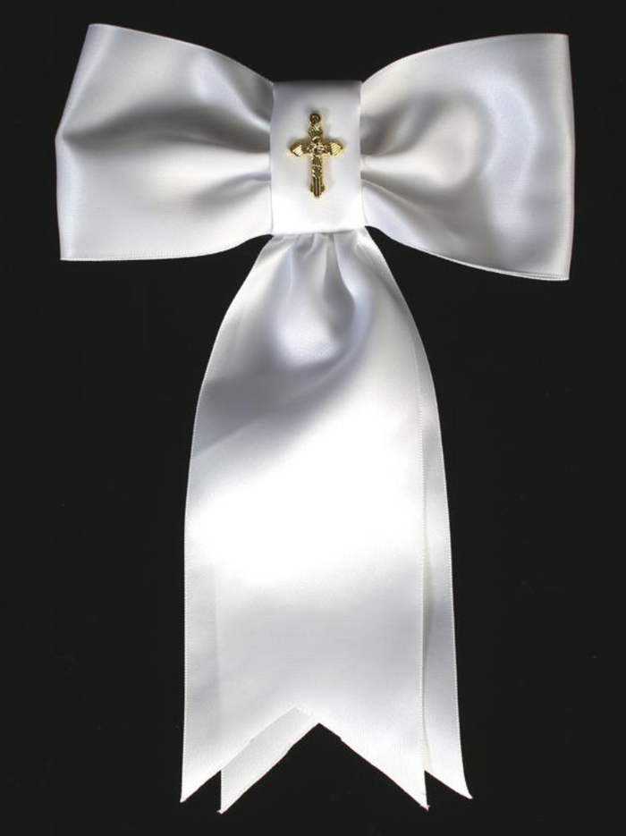 Communion Arm Band with Gold Cross (AB-2)