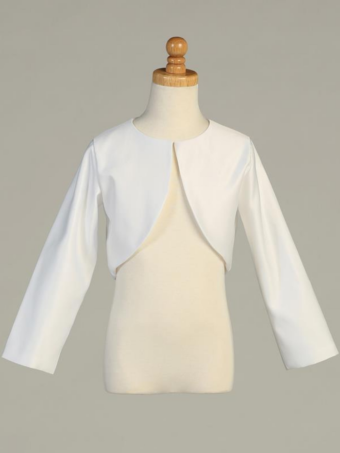 Long Sleeve Satin Bolero (1103)