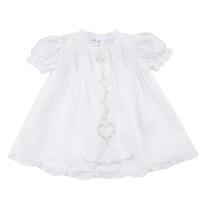 Floral Heart Slip Dress