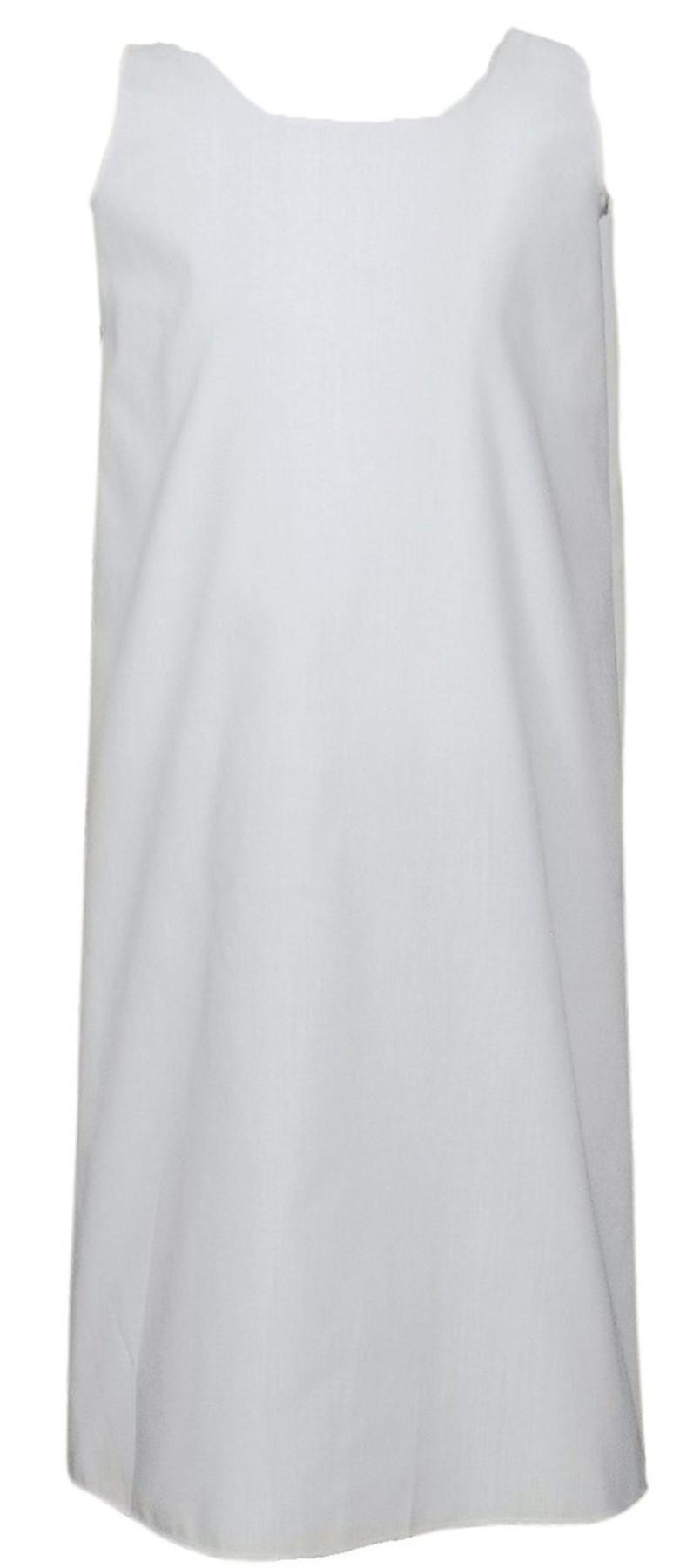 Girls Easter Christening Baptism Slip Liner, 23″ White Poly Cotton