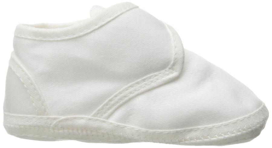 Boys Cotton Shoe with Button Closure