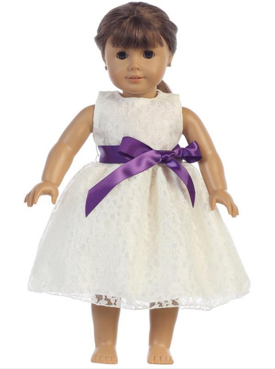"18"" American Baby Doll Dress"