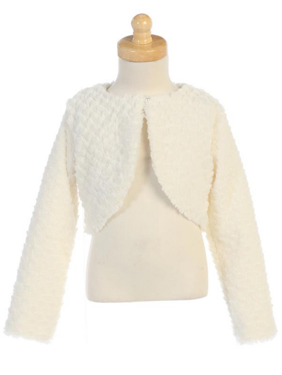 Faux-Fur-Bolero-(1109)-Ivory