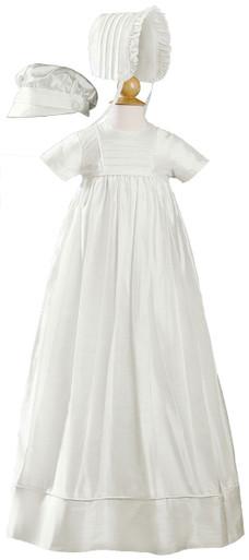 ee2b76b1ce83 Silk Dupioni Christening-Baptism Heirloom Gown, Unisex