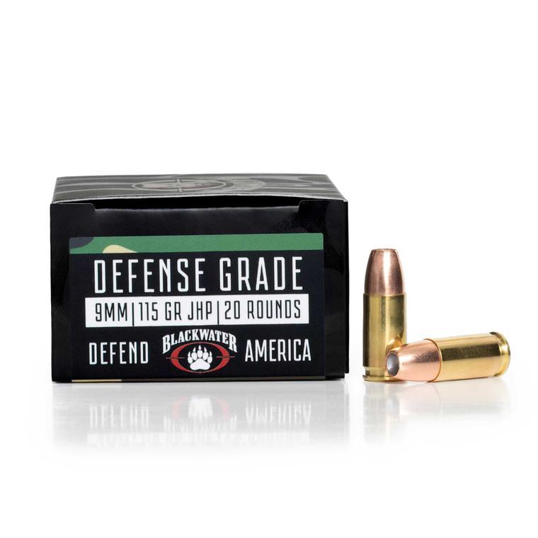 blackwater defense grade 9mm made in america