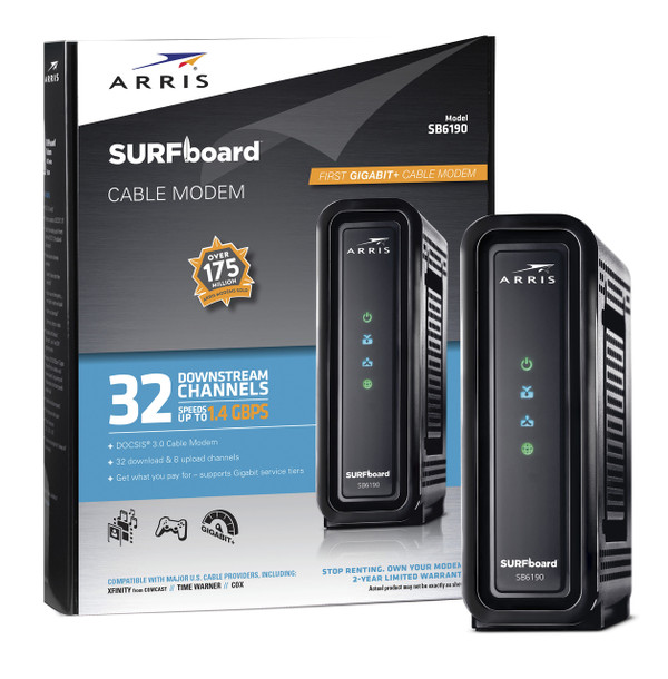 SB6190 SURFboard® Cable Modem - Black
